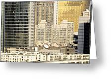 Residential High Rises In Beijing China Greeting Card