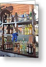 Resort Cantina Bar Wine-liquor-beer Greeting Card