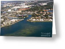 Resort City In The South Greeting Card