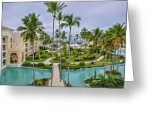 Resort In Dominican Republic Greeting Card