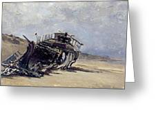 Rest Of A Shipwreck Greeting Card