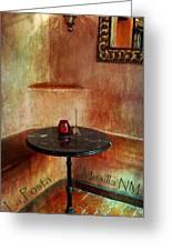 Restaurante La Posta Greeting Card