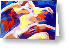 Restful Nude Greeting Card
