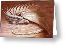 Restful Wyrm Greeting Card
