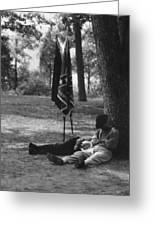 Resting At Gettysburg Greeting Card