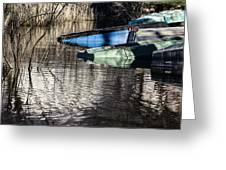 Resting Boats Greeting Card