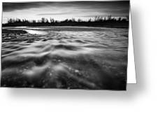 Restless River II Greeting Card