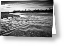 Restless River IIi Greeting Card