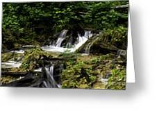 Restless Water Greeting Card