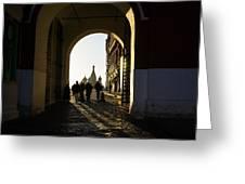 Resurrection Gate Greeting Card