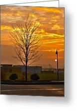 Retail Dawn Greeting Card