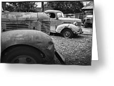 Retired Dodge Trucks Greeting Card