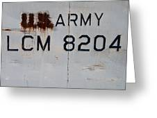 Retired Lcm-8 Greeting Card