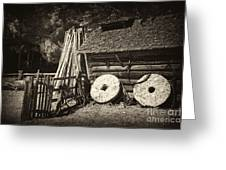 Retired Mill Stones Greeting Card