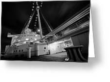 Retired Queen Mary Upper Deck Greeting Card