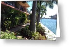 Retirement Bliss Boca Raton Fl. Greeting Card