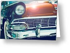 Retro Car Greeting Card