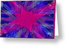 Retro Explosion 2 Greeting Card