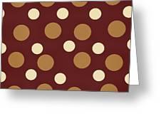 Retro Polka Dot Greeting Card