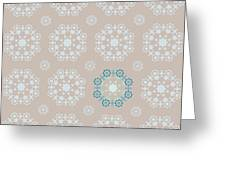 Retro Wallpaper Greeting Card