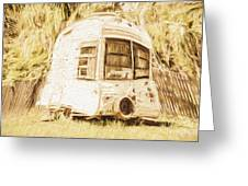 Retrod The Comic Caravan Greeting Card