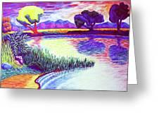 Return To Morgan's Pond Greeting Card
