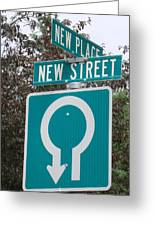 Sign Post Greeting Card