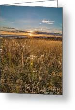 Retzer Autumn Sunset Greeting Card