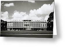 Reunification Palace Saigon Greeting Card