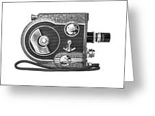 Revere 8 Movie Camera Greeting Card