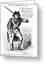 Revolutionary Soldier Greeting Card