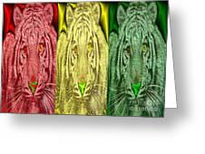 Revolutionary Tigre Ital Greeting Card