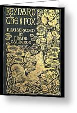Reynard The Fox Greeting Card