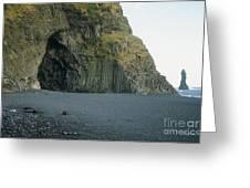Reynisfjara Beach - Iceland Greeting Card