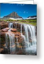 Reynolds Mountain Falls Greeting Card