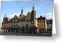 Rezidenzschloss - Dresden  -  Germany Greeting Card