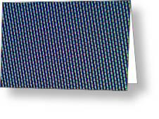 Rgb Screen Greeting Card