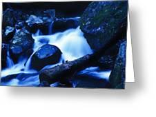 Rhapsody In Blue Greeting Card