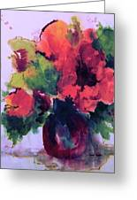 Rhapsody Of Flowers Greeting Card
