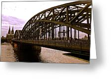 The Rhine Connection Greeting Card