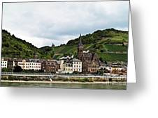 Rhine River View Greeting Card