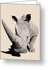 Rhinocerosafrica Greeting Card