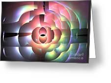Rhodium Greeting Card