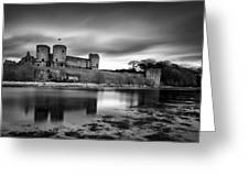 Rhuddlan Castle Greeting Card