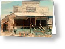 Rhyolite Mercantile Greeting Card