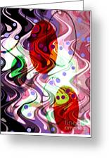 Rhythem Of Change II Greeting Card