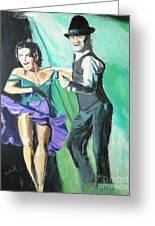 Rhythm Of The Night Greeting Card by Judy Kay