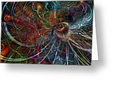 Rhythmic Patterns Greeting Card