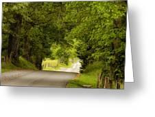 Ribbon Road Greeting Card