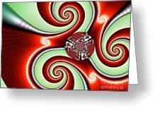 Ribbons And Bows Greeting Card